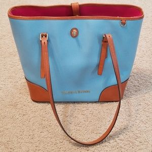 Dooney and Burk, like new Blue Dover Tote